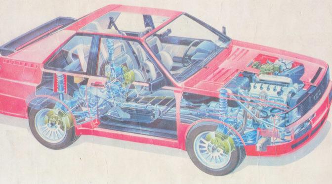 Audi Quattro 1984 – 80 – Sport