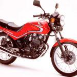 Honda CBX 250 RS - Podwójne dźwigienki zaworowe