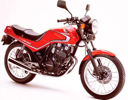 Honda CBX 250 RS – Podwójne dźwigienki zaworowe