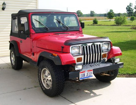 Jeep Wrangler do '96