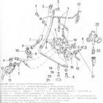 Sprawdzanie części układu wtryskowegoKE-Motronic - Audi 80