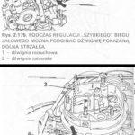 Regulacja biegu jałowego w silniku zimnym - gaźnik Keihin II