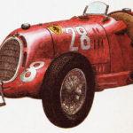 ALFA ROMEO 12C-36 - rok 1936