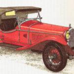 ALFA ROMEO 6 C 1750 GRAN SPORT - rok 1930