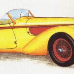 ALFA ROMEO 8 C 2900 - rok 1939