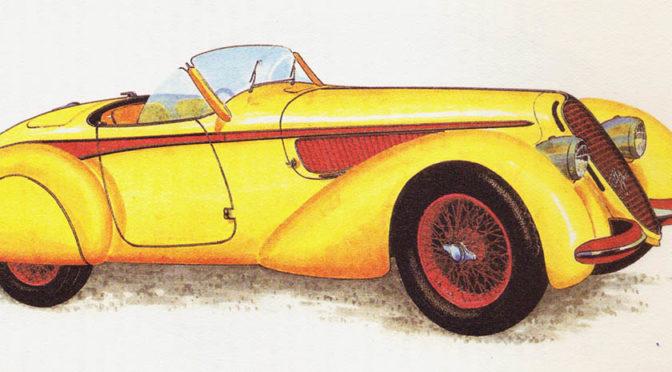 ALFA ROMEO 8 C 2900 – rok 1939