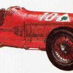 ALFA ROMEO P2 - rok 1930