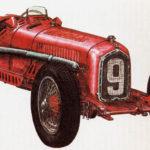ALFA ROMEO P3 - rok 1932