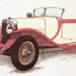 ALFA ROMEO RL SPORT - rok 1922