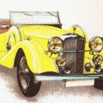 ALVIS - rok 1932