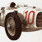 AUTO UNION A - rok 1934