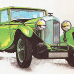 BENTLEY 4,5 LITRA - rok 1931
