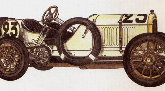 BENZ – rok 1908