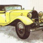 BUGATTI 41 ROYALE - rok 1931