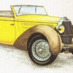 BUGATTI 57 C - rok 1938