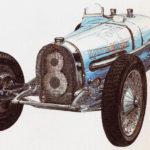 BUGATTI 59 - rok 1934