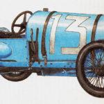 BUGATTI BRESCIA - rok 1921