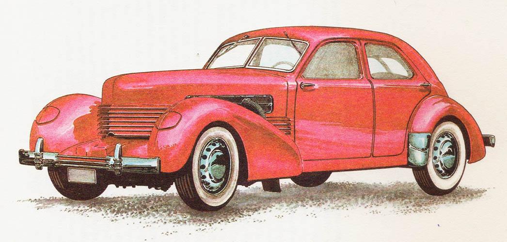 CORD 810 - rok 1937