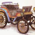 DAIMLER VIS-A-VIS - rok 1894