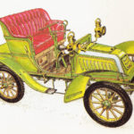 DE DION-BOUTON - rok 1903