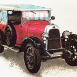 FIAT 501 - rok 1923