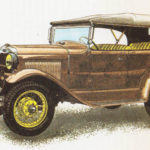FORD A - rok 1927