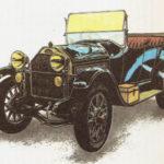 GRÄF& STIFT - rok 1911