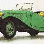 LAGONDA RAPIER - rok 1935