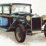 LANCIA LAMBDA 214 - rok 1923