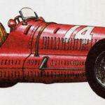 MASERATI 8 CTF - rok 1938