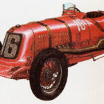 MASERATI 8C-3000 - rok 1930