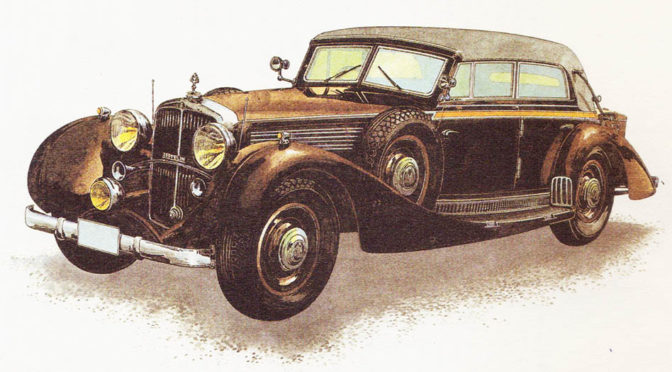 MAYBACH ZEPPELIN – rok 1937