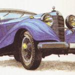 MERCEDES-BENZ 500 K - rok 1935