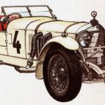 MERCEDES-BENZ SS - rok 1928