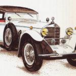 MERCEDES-BENZ SS - rok 1929