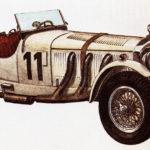 MERCEDES-BENZ SSK - rok 1930