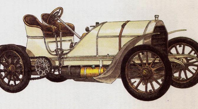 MERCEDES – rok 1903