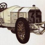 MERCEDES - rok 1908