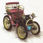 RENAULT VOITURETTE - rok 1898