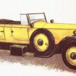 ROLLS-ROYCE PHANTOM I - rok 1925