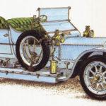 ROLLS-ROYCE SILVER GHOST - rok 1907