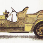 SCANIA-VABIS 12/20 HP - rok 1911