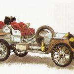 THOMAS FLYER 6-70 - rok 1907