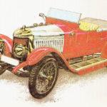 VAUXHALL PRINCE HENRY - rok 1914