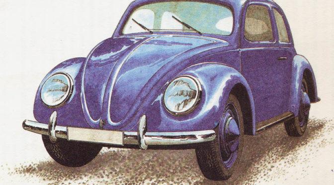 Volkswagen Garbus – rok1940