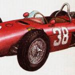 FERRARI 156 - rok 1961